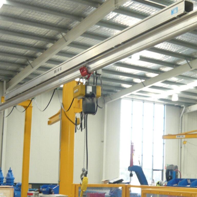 GHE Monorail Cranes